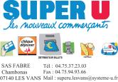 ENCART PUB SUPER U