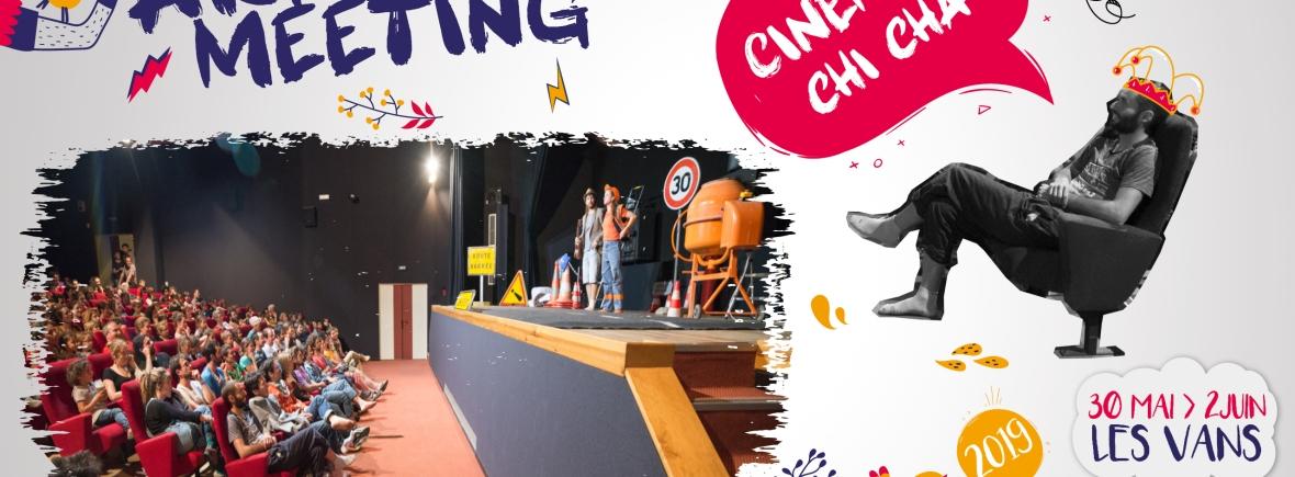 soirée d'ouverture ardeche meeting 2019 cinéma d'aventure